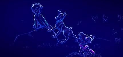 繼小美人魚和美女與野獸,這名迪士尼動畫師用最原始的方法畫出從細胞到成人的愛情動畫短片。