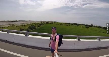 來看看這名阿兜仔在5天內拍出你看過最美的台灣。