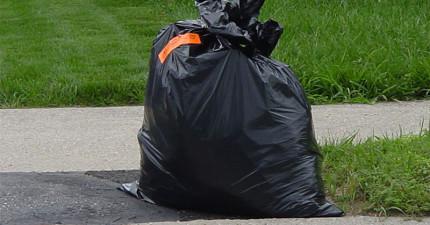 她們在散步時聽到這個垃圾袋裡傳出哭聲,打開後她們都氣到快哭出來了!