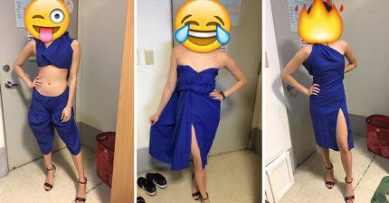 她把學士服DIY改造成「6種超神款式」,#2胸前「手工玫瑰花」可以直接去奧斯卡典禮了!