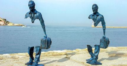 15個「讓你無法信任自己眼睛」的最震撼雕塑 通往天國的階梯真的存在!