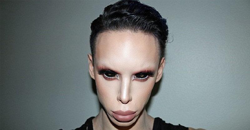 他花500萬變「黑瞳外星人」預言15年後滿街都是「新人類」