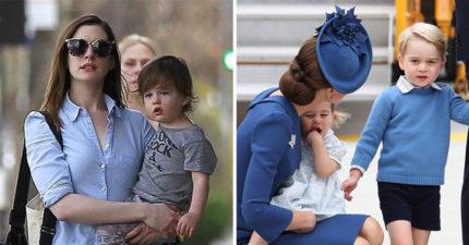 「凱特王妃育兒法」爆紅連安海瑟威也在學 只要「蹲下去」就對了!