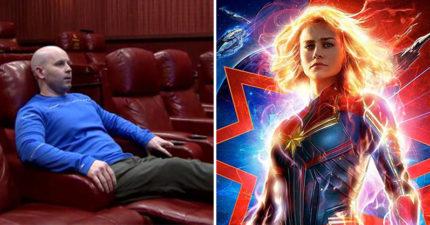 超狂男子《驚奇隊長》最多「1天看7場」 「進戲院看116次」打破金氏世界紀錄!