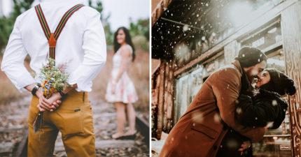 情侶分享「第一次說我愛你」的浪漫時刻 女友告白後他馬上「被一掌巴下去」!