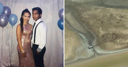 夫妻被困在「鱷魚沼澤」慘遭包圍 緊急在空地留下「救命口訣」讓他們獲救!