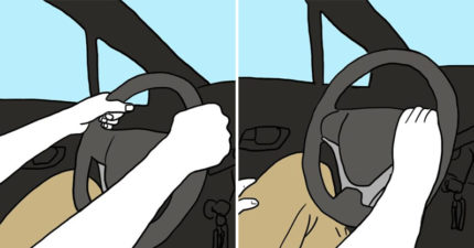 8個開車姿勢「揭示你的黑暗面」!遇到「左手握著方向盤的人」一定要跟他做朋友~