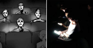 網友分享「演出時觀眾滑手機」的真實情況 表演者「從舞台上看到」的畫面超諷刺!