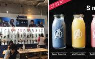 《復仇者聯盟》期間限定餐廳推出「無限寶石冰沙」 超狂加碼展出全英雄的「原味戰服」!