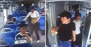 魯蛇趁520搭上「愛情公車」 直接牽手「超正白衣女」網驚呆:直接輸在起跑點…