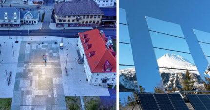 太酷了!這個城市一年中「5個月都沒陽光」 政府突發奇想花1800萬「裝鏡子」...讓太陽回來了