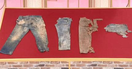 他20年前買「4件破爛牛仔褲」當珍藏 鑑定後「價值翻漲10倍」連專家都搶著買!