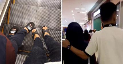 暖男發現媽媽腳痛直接「換他穿高跟鞋」 網讚爆:最後那動作超霸氣!
