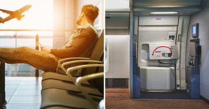 三寶婦把「緊急出口」當厠所門 航空公司「超詭異回應」引關注:不只是意外?