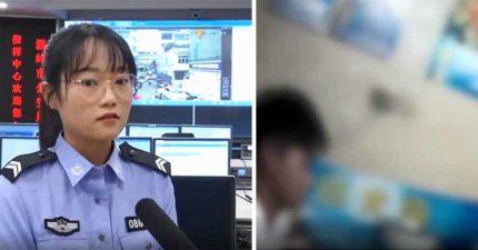 少女報警「一雙筷子一個雞蛋」 以為是惡作劇...機智女警卻秒驚覺是「求救暗號」:快救她!