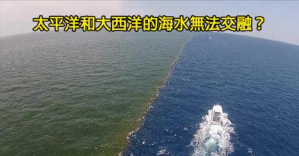 太平洋和大西洋的「交界海水」不會相融?網曝光「3大原因」揭秘地球神奇力量