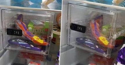 不滿未婚妻一直偷吃!衰男在冰箱「裝保險箱」反擊 她暴怒:就是個王八