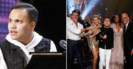 22歲全盲自閉男「自彈自唱」奪比賽冠軍 唱完那一刻...全場起立!