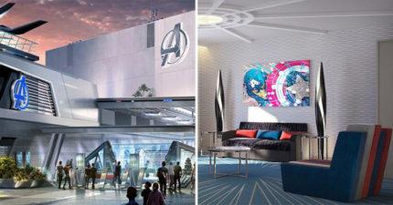 不只復仇者樂園!迪士尼加碼推「復仇者飯店」 英雄主題房「超未來感設計」粉絲:再貴也要去