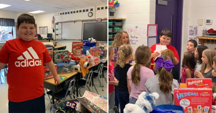 8歲小孩「家裡發生火災」心情低落 同學竟「偷偷收集玩具」給驚喜網讚爆!