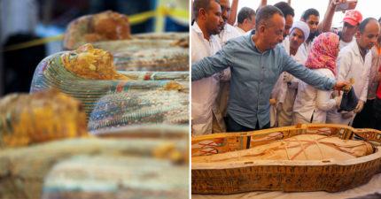 埃及宣布出土「30具木乃伊」從棺木就可以「看出性別」:一世紀來重大發現!