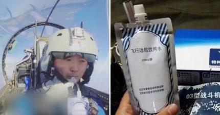 飛行員在空中吃什麽?中國只吃「清水+巧克力」超克難 美國伙食卻媲美吃到飽!
