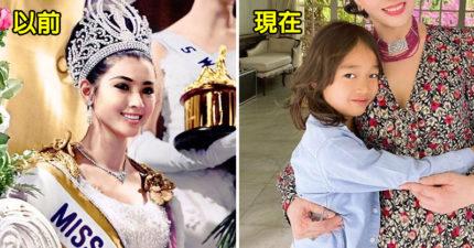 泰國「前環球小姐」72歲升格當阿嬤 曝光「凍齡近況照」沒人相信是本人!