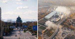 中國疫情延燒「城市全空」碳排放量「少1噸」 相當智利一整年的量!
