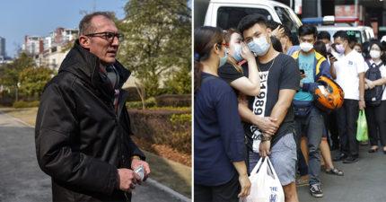 法國醫生「放棄2次」撤僑機會 選擇「留守武漢」繼續救:這是我的工作!
