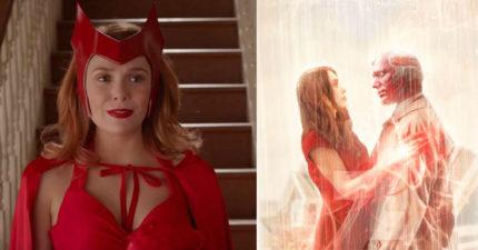 緋紅女巫獨立影集搶在超級盃「首隻預告」曝光 多重宇宙成真!