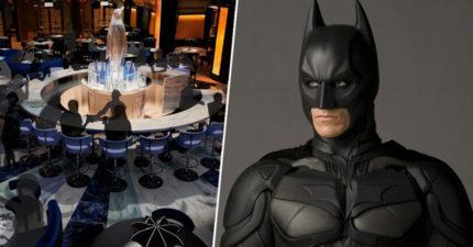 世界第一間「蝙蝠俠餐廳」特地蓋在地下室 用餐還能享受5種劇情