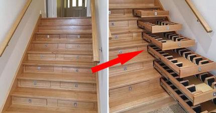 無聊就把「居家樓梯→豪華酒窖」 前提是你「藏酒要夠多」!