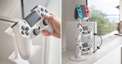 把Switch手把變「質感擺飾」 沒在玩「更實用」老婆終於滿意