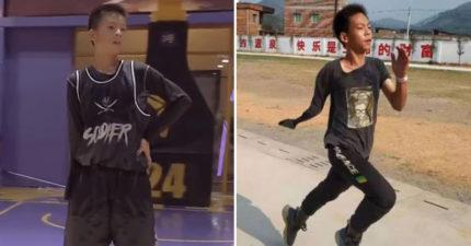 「獨臂男孩」打球影片瘋傳 「華麗運球」NBA球星也被圈粉!