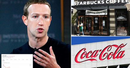 臉書因為「太歧視」一週慘賠1.6兆 星巴克、可口可樂紛紛抵制