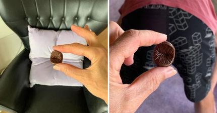 寫實系「菊花巧克力」皺褶也還原 「特殊服務」能騙走女友眼淚