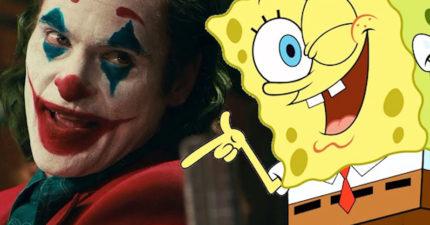 神人把《小丑》換「海綿寶寶來演」完全無違和 網友:比原版有fu