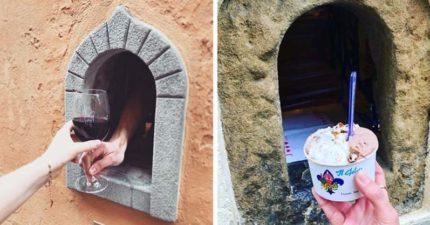 義大利商家重啟「黑死病小酒窗」用17世紀老方法對抗疫情
