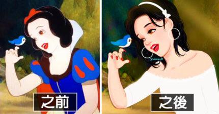 如果迪士尼公主變成現代人? 艾莎「剪短髮」美到打敗一線女星