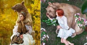 野熊小時候慘遭棄 如今當上全俄羅斯「最多粉絲」御用模特兒!