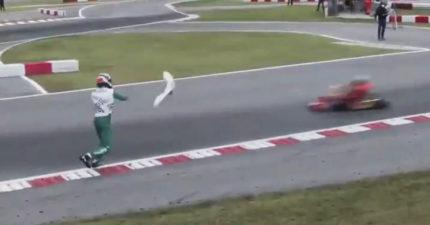 以為在玩「馬力歐賽車」?爆氣哥朝對手「丟道具」...下場比輸還慘