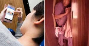 女屋主躺床滑手機不離開 躲衣櫃小偷「憋尿2小時」決定不忍了