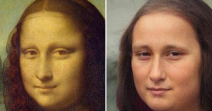 AI藝術家把「油畫名人→活生生人物」 貝多芬「變美男」跟課本超不同!