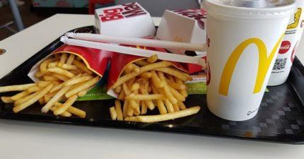鄉民提倡「吃麥當勞不收餐盤」運動 網友看法兩極:台灣人奴慣了