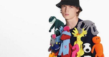 LV推「14隻娃娃掛好掛滿」天價毛衣 網友:模特兒表情說明一切