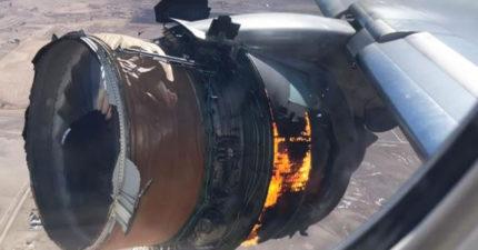 影/坐窗邊親眼「看著引擎爆炸」 乘客身心崩潰「求償1000萬」