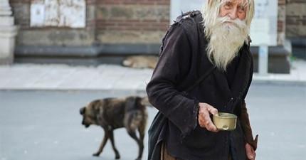 這位99歲老人家看起來像是一個乞丐,但知道他的故事後你就會知道他是一個不折不扣的大聖人!