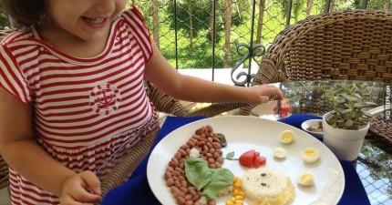 她放棄當賺很多錢的牙醫,就為了幫女兒做出這些驚世料理。