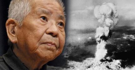 他是世界上唯一親身經歷到二戰時日本兩顆原子彈的超不幸男人。