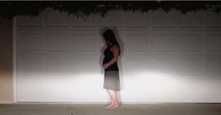 這段「鬼影實錄」的影片原本已經毛到我差點關掉視窗,但看到最後才發現眼眶濕濕的。